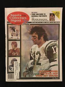 1998 Sports Collectors Digest magazine + Dealer Directory / SCD / Joe Namath