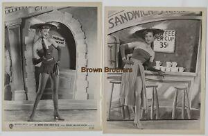 Vintage 1952 Hollywood Beauty Virginia Mayo Long Legs Dance Photos (2) BB