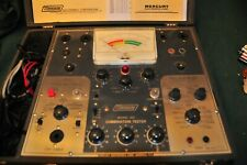 Mercury Model 301 Combination Tube Tester With Test Data