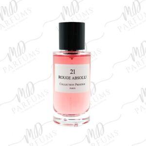 Parfum CP Prestige Rouge Absolu senteur Rouge Trafalgar 50ml Frais port Offert