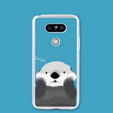 DIY Coque en Silicone Ours Gros Mignon Smile Housse Etui Créatif Ultra-Mince