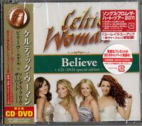 CELTIC WOMAN-BELIEVE SONGS FROM THE HEART -JAPAN CD DVD Ltd/Ed I95