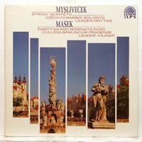 VAJNAR, MATYAS - MYSLIVECEK String Quintets MASEK Partitas SUPRAPHON 2xLPs NM
