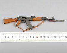 1/6 Metal AK47 wi/ bayonet (Not Launch) Rifle Gun Weapon Arms Toys Model Presale