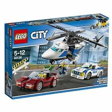 LEGO City police helicopter and police car 60138 F/S