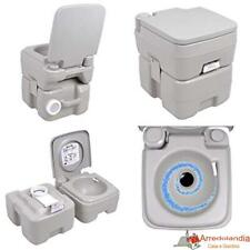 Bagno toilette wc gabinetto water chimico mobile portatile in dura resina con pi