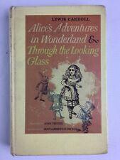 Vintage 1946 Alice's Adventures in Wonderland Lewis Carroll hardback book
