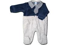 Tutina Pigiama intero Neonato Irge Baby Ciniglia Cotone Caldo Colletto 6-9 mesi