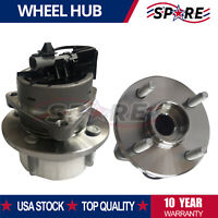2 Front Wheel Hub & Bearing Assembly 4 Lug NEW for Chevy Cobalt G5 Ion w/ ABS