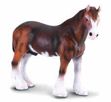 New CollectA Brown Clydesdale Horse Toy Figure 88153 -  FREE UK DELIVERY !