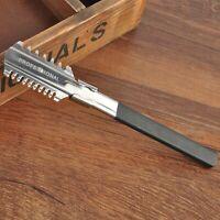 Coupe de Cheveux Eclaircie Razor Coiffure Rasoir Peigne Salon Coiffure Coiffeur