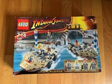 New Lego Indiana Jones Last Crusade Venice Canal Chase (7197) Never Opened