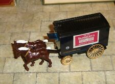 LLEDO - DAYS GONE - HORSE DRAWN LARGE VAN - J SAINSBURY - BOXED