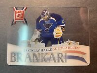 2010-11 Panini Donruss The Goalies #15 Jaroslav Halak St Louis Blues