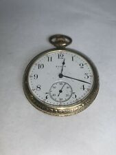12 Size Pocket Watch Elgin Antique Gold Filled