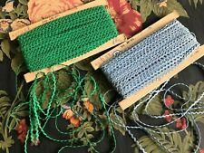 36 Yards Vintage Miniature Cotton Ric Rac Trim Braid Sewing Baby Dolls Clothes