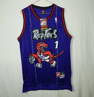 NWT Tracy McGrady Toronto Raptors NBA Basketball Jersey Nike Hardwood Classics M
