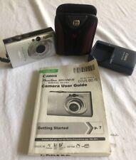 Canon Powershot SD1100 IS Silver Digital Camera 8 M/P
