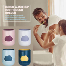 Cute Clouds Toothbrush Cup BPA-free Bathroom Washing Cup Toothbrush Holder Cup