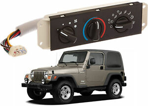 Standard Motor Products HS-373 Heater Control Panel For 1999-2006 Jeep Wrangler