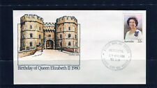 1980 Queens Birthday 22c First Day Cover, Mint Condition