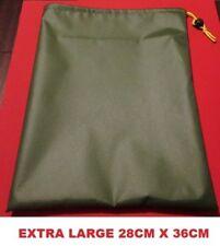 Tent Awning PEG BAG FOR PEGS & GUYROPE - Caravan, Motorhome, Tent, Camping green