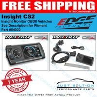 Edge 84030 Insight CS2 Monitor Gauge Display OBD2 1996-2017 Cars & Trucks