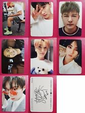 LOT of 7 SUPER JUNIOR Official PHOTOCARD PLAY 8th Album Black Suit Photo Card SJ