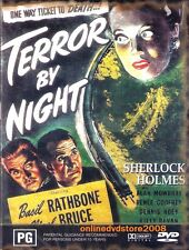 Sherlock Holmes TERROR by NIGHT (Basil RATHBONE) Mystery Film DVD NEW SEALED R4