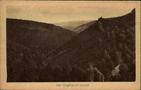 *Der ungeheure Grund* um 1920 Verlag Georg Krautwurst Friedrichroda Thüringen