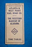 The West Point Route Timetable - Feb 1, 1925