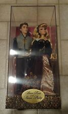 Disney Store Limited Edition Aurora Prince Phillip Doll Designer Princess Doll