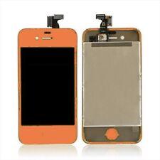 DISPLAY LCD iPhone 4g Arancione Completo di tasto home