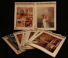 LOT OF 10 FINE HOMEBUILDING 50 51 53-60 MAGAZINE HAND CRAFTED WOODWORKING TOOLS