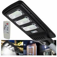 Lampione Stradale Faro a LED 90W con Pannello Solare Telecomando Fotovoltaico