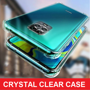 CLEAR Case For Xiaomi Redmi Note 9 9s 8 Pro 8T TPU Cover Shockproof Silicone