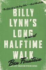 Billy Lynns Long Halftime Walk by Ben Fountain