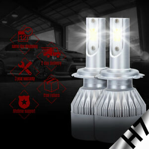 XENTEC LED HID Headlight Conversion kit H7 6000K for Volkswagen Rabbit 2006-2009