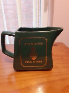 VINTAGE W.H. MILNER FINE WINES  BAR WATER JUG