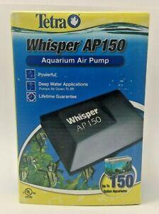 Tetra Whisper AP Deep Water Aquarium Air Pump AP 150 - Up to 150 Gallon Tank