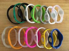 15 Pıeces  XSMALL Power Balance Energy Health Band Bracelet- Wrist  XSMALL