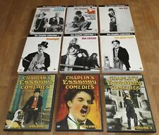 Charlie Chaplin dvd ESSANAY COMEDIES The Kid GOLD RUSH Circus LIMELIGHT Revue