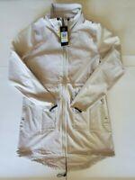 New Under Armour UA Storm Full Zip Jacket  Women's Size Medium 1326871 Cream