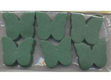 Confettis papillons en papier de soie ignifugé vert sapin 50 grammes mariage