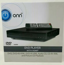onn. upscaling HDMI DVD Player with remote