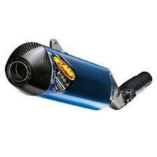Honda TRX450R 04-14 FMF Factory 4.1 Slip-On Muffler Blue Anodized Titanium