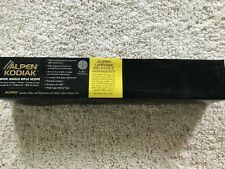New Alpen 4-12x40 Kodiak Series Wide Angle Rifle Scope Matte Black Finish