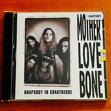 Mother Love Bone – Rhapsody In Chartreuse CD ( PEARL JAM / Soundgarden )