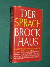 Der Sprach Brock Haus Bildwörterbuch für Jedermann