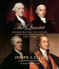 The Quartet Orchestrating the Second American Revolution 1783-1789  CD AUDIOBOOK